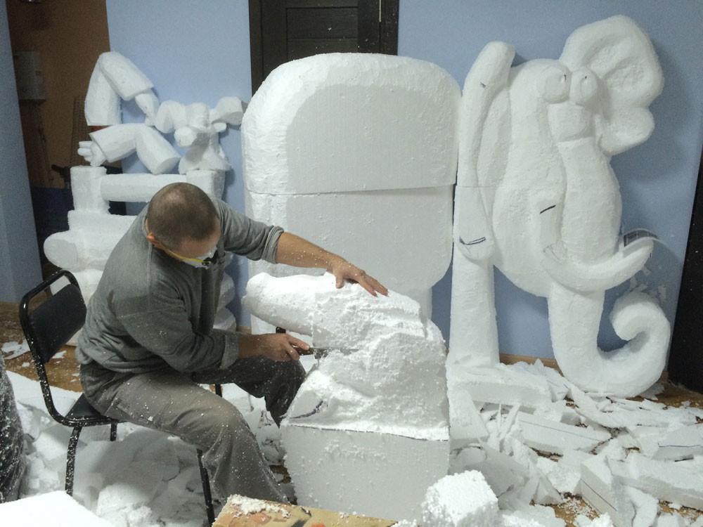 Изготовление скульптур своими руками 585